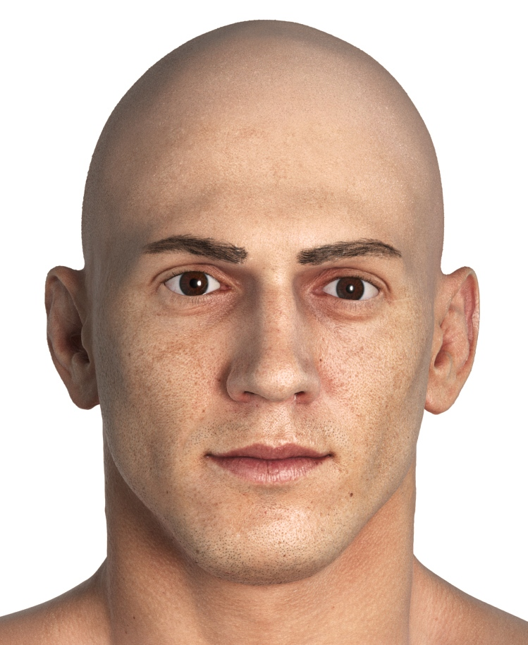 mike 3d human avatar scan realistic pbr model